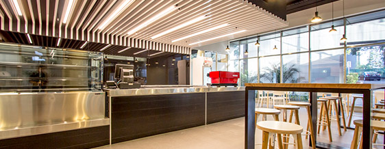 Hungerford Project Services, Project: 1 Epping Rd North Ryde (Cafe)